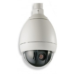 Bosch VG5-161-PT0 AutoDome 100 Series Color NTSC Indoor Pendant Camera, 2.7-13.5mm Lens