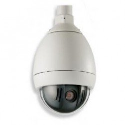 Bosch VG5-164-EC0 AutoDome 100 Series Day/Night NTSC Outdoor Pendant Camera, 5-50mm Lens