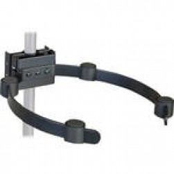 VMP VH-005B Pipe/Ceiling Mast Electronic Component Holder - Black