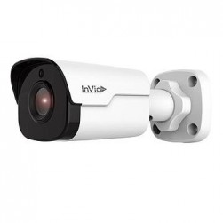 InVid VIS-P4BXIR36 4 Megapixel IP Plug & Play Outdoor Bullet Camera, 3.6mm Lens