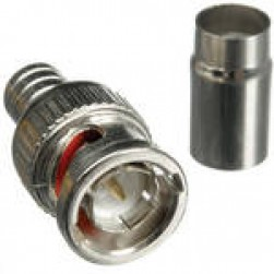 Vitek VT-BNC-MRG6 BNC Crimp-On Connector for RG-6 75 Ohm
