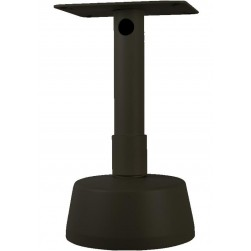 Vitek VT-PT12-CMT Pedestal Ceiling Mount, Black Finish