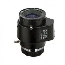 Cantek CTW-LAVF3508MM Auto-Iris CS Mount, 3.5-8mm Lens