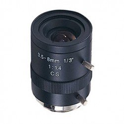 Cantek CTW-LVF3508MM Maunal Iris CS Mount, 3.5-8mm Lens