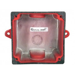 Bosch WBB-R Weather Resistant Back Box - Red