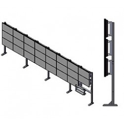 Orion WFS Stand Alone Floor Video Wall Mount