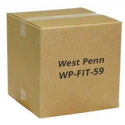 West Penn WP-FIT-59 Flaring / Insertion Tool for RG59 Cable