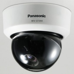 Panasonic WVCF344 650 TVL Analog Indoor Dome Camera, 2.8-10 mm Lens