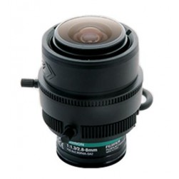 Fujinon YV2-8x2-8SR4A-SA2 3MP Day/Night DC Auto-Iris Lens, 2.8-8mm