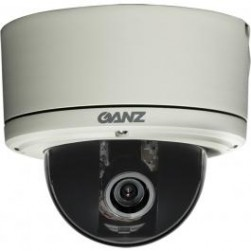 Ganz ZC-DT8312NBA 600TVL Outdoor D/N Dome Camera w/DWDR, 3.3-12mm
