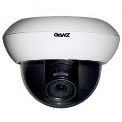 Ganz ZC-DW5550NXAT 700TVL Day/Night WDR Dome Camera w/NVT Transmitter, 5-50mm Lens, White