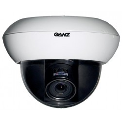 Ganz ZC-DWN5212NXA 700TVL True Day/Night WDR Dome Camera, 2.8-12mm Lens, White