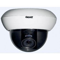 Ganz ZC-DWN5212NXAT 700TVL True Day/Night WDR Dome Camera w/NVT Transmitter, 2.8-12mm Lens, White