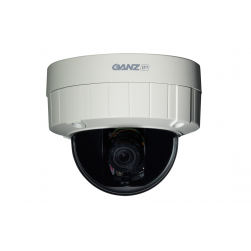 Ganz ZN-DT1MTP PixelPro 720p Outdoor D/N Network Dome Camera, 3-9mm