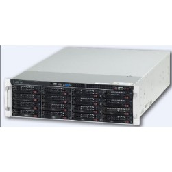 Ganz ZNR-24TB-RL Raid-5 Server, Up to 40 IP Cameras w/DVD-RW, 24TB