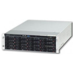 Ganz ZNR-32TB-RL Raid-5 Server, Up to 40 IP Cameras w/DVD-RW, 32TB