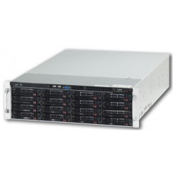 Ganz ZNR-48TB-R 74CH Raid-5 Hot Swap NVR Server w/DVD-RW, 48TB