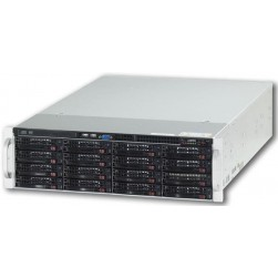 Ganz ZNR-72TB-R 74CH Raid-5 Hot Swap NVR Server w/DVD-RW, 72TB