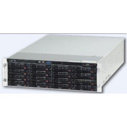 Ganz ZNR-12TB-R 74CH Raid-5 Hot Swap NVR Server w/DVD-RW, 12TB