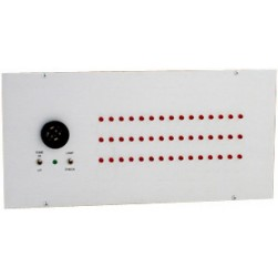 Alpha A-4045-TG 45 Zone Visual Annunciator UL