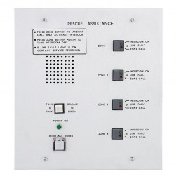Alpha A-4204 4 Unit Area of Rescue Master Audio