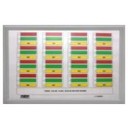Alpha A-4448-1 48 Zone Annunciator Red LED