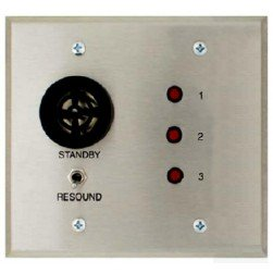 Alpha A-4003A 3 Zone VIS Annunciator-2 Gang Requires 2-Gang