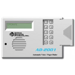 United Security Products AD2001 Auto Voice Dialer with 2 VMZ