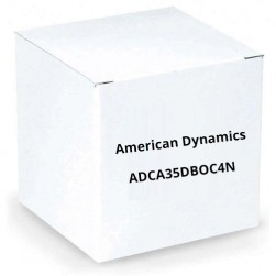 American Dynamics ADCA35DBOC4N Outdoor Dome Camera 3 .0 - 9.0mm Lens