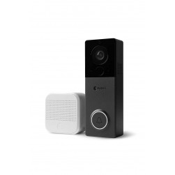 August Home AUG-AB03-C04-001 1080p Wire-Free View Doorbell Camera, Black