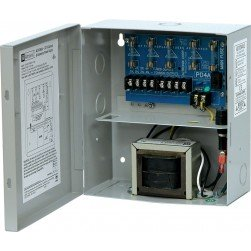 Altronix ALTV244UL CCTV Power Supply, 4 Fused Outputs, BC100 Enclosure
