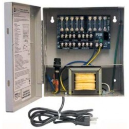 Altronix ALTV248ULCB 8 Output Power Supply, 24/28 VAC, 3.5/3.0 Amp, Circuit Breaker, UL Listed