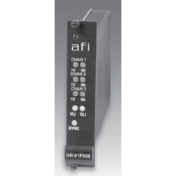 AFI RR-91P58C 10 Bit Video / MPD Data & Audio Rack Card Receiver