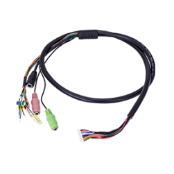 Vivotek AO-003 Cable for AC24V/ Mic in/ Line out/ RS485/ 4 DI/ 2 DO