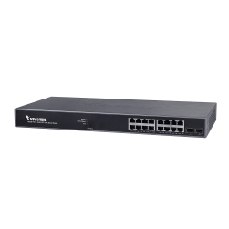 Vivotek AW-GEV-184B-250 16xGE PoE + 2xGE SFP Web Smart Managed Switch