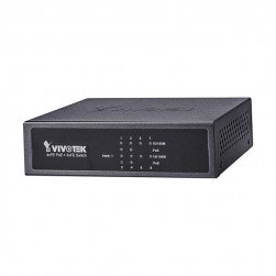 Vivotek AW-FET-081B-065 Unmanaged 4xFE PoE + 4xFE Switch