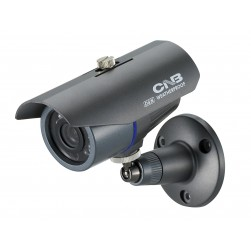 CNB B1760N Weatherproof IR Bullet Camera, 530TVL, 4.3mm