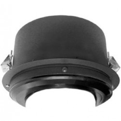 Pelco BB4E-F-E Spectra IV IP H.264 Outdoor In-Ceiling Backbox, Black