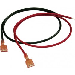Altronix BL3 18 Inch Battery Leads, 18AWG, Red and Black Pair