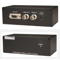 Speco BNCVGAHR High Resolution Video to VGA Converter