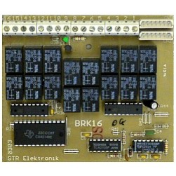 Alpha BRK16 16 Station Relay Card-Digital Dial