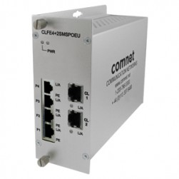 Comnet CLFE4+2SMSC 10/100TX Drop/Insert/Repeat 4TX/2EX Self-Managed