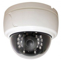 Speco CLED30D1W 600TVL Analog Indoor IR Dome Camera, 2.8-12mm, White Housing