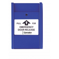 Camden Door Controls CM-701EDR 1 x N/C Switch, 'Pull for Emergency Door Release'