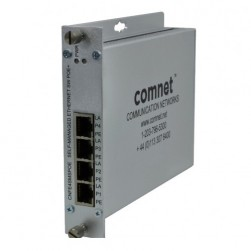 Comnet CNFE4SMSPOE/1224DC 4 Port Self-Managed Switch