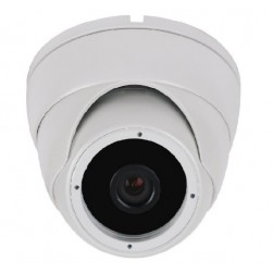 Cantek CT-HDC-DI24A-2M-2.8-W 2.4 Megapixel HD Quad IR Small Turret Camera, 2.8mm, White