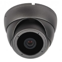 Cantek CT-HDC-DI24A-2M-3.6-B 2.4 Megapixel HD Quad IR Small Turret Camera, 3.6mm, Black