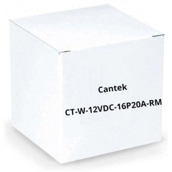 Cantek CT-W-12VDC-16P20A-RM 16 PTC Output Regulated 20 Amps Rack Mount