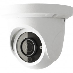 Cantek Plus CTP-TF14NHE 4 Megapixel Outdoor IR Network Dome Camera, 3.6mm Lens