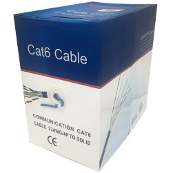 Cantek CT-Cat6/CCA-1000 1000ft CCA UTP Cable
